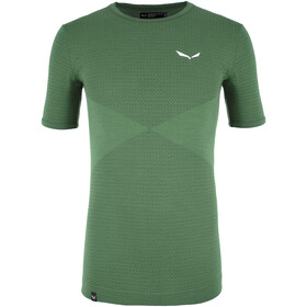 SALEWA Zebru Responsive SS Tee Men, duck green